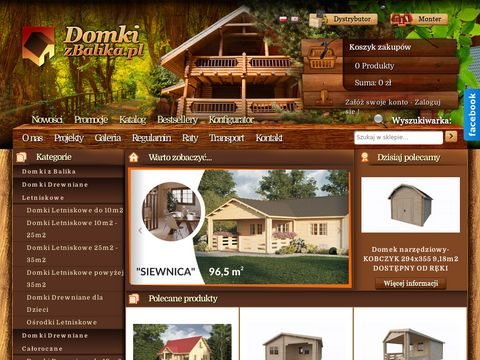 Gotowe domy drewniane