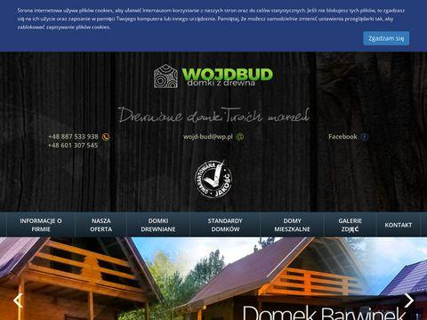 WOJDBUD Domki z drewna
