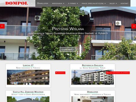 Mieszkania Rybaki Toru艅