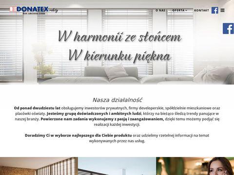 Montaż rolet - remonty - Warszawa - Donatex