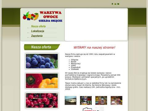 Dostawy Warzyw i Owoców - Giełda Warzyw Okęcie Warszawa