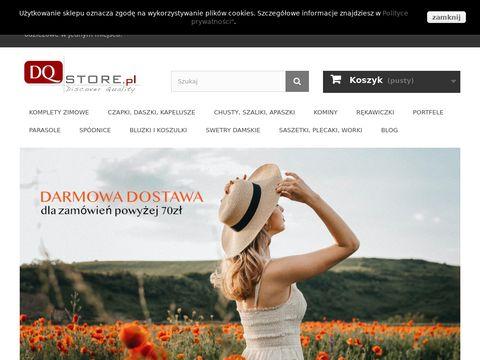 DQstore.pl - sklep internetowy z akcesoriami odzie偶owymi
