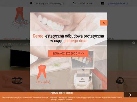 Dr DÄ…bek | Nowoczesna stomatologia w GrudziÄ…dzu