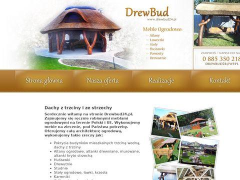 Producent dachów z trzciny Drewbud