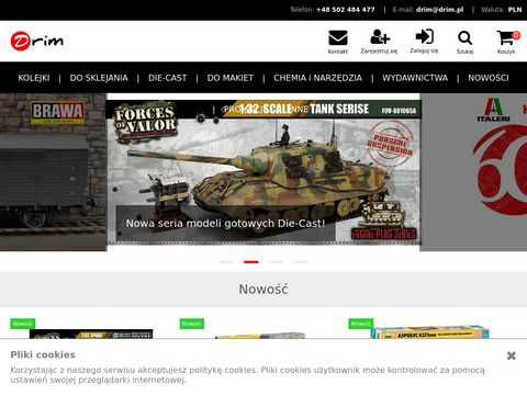 Sklep modelarski - Drim.pl