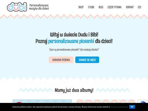 Dubi - Personalizowana muzyka dla dzieci