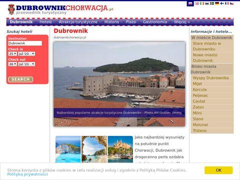 Atrakcje turystyczne Dubrownika