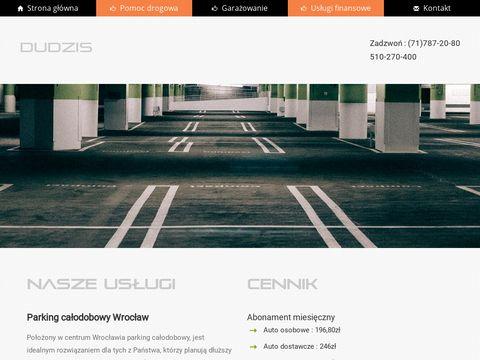 Www.dudzis.pl – parking strzeżony Wrocław