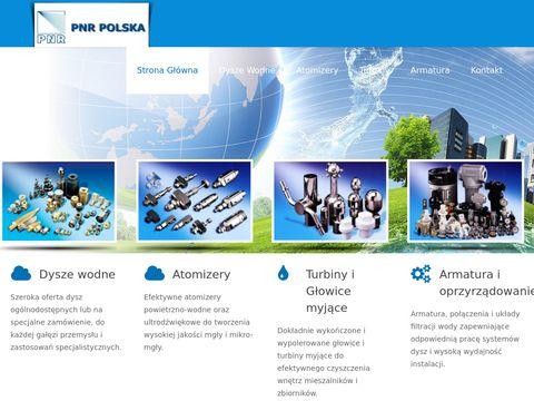 Atomizery i głowice myjące od PNR Polska