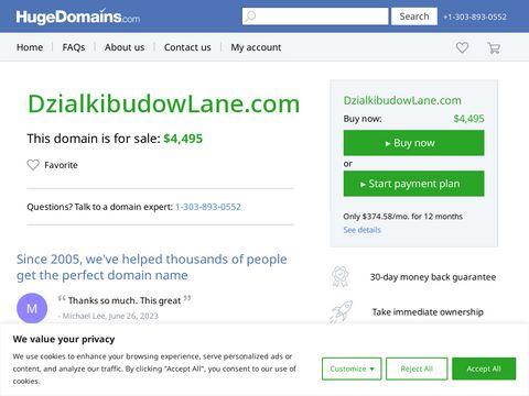Dzialkibudowlane.com działki budowlane