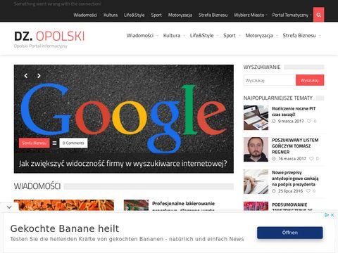 Dziennik Opolski - Opolski Portal Informacyjny