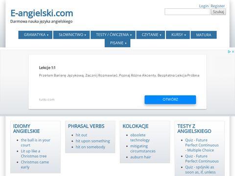 Jezyk angielski :: gramatyka, slownictwo, testy,