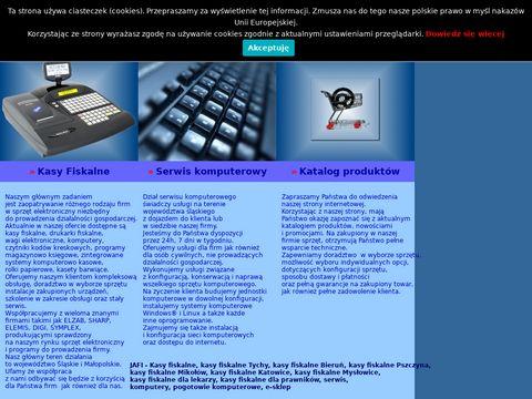 Kasy fiskalne, drukarki fiskalne, serwis komputerowy - Tychy