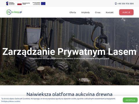 E-Lasy - portal dla wszystkich związanych z lasami
