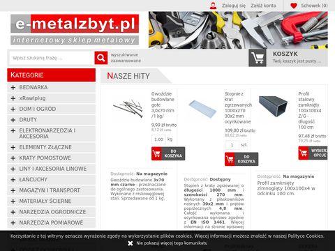 Internetowy sklep metalowy i przemysłowy - e-metalzbyt