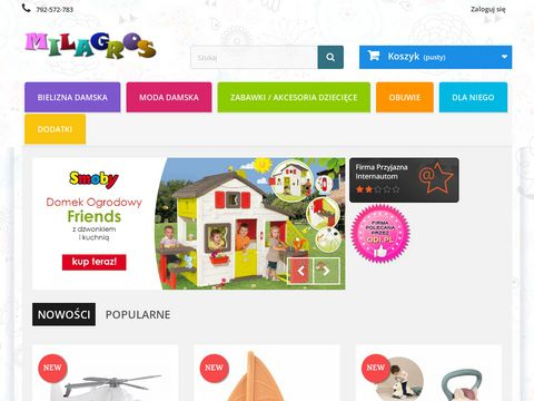 Najlepszy sklep online Bielizna,odzież,galanteria i zabawki