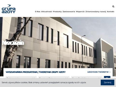 E-plastics.eu – Grupa Azoty - portal tworzyw sztucznych: PA6, POM, PP, PBT, PA66