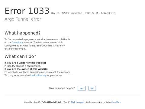 Sklep internetowy e-sano.pl