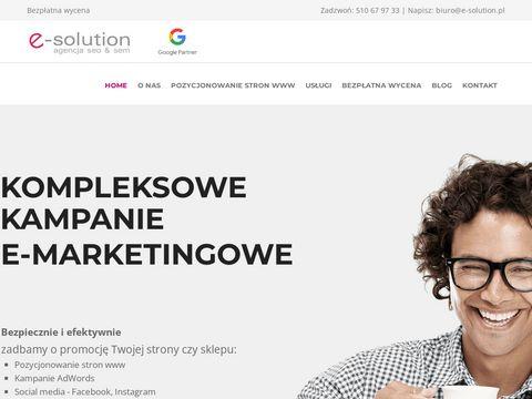 strony internetowe, sklepy internetowe, system CMS