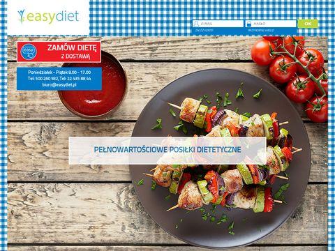 EasyDiet - catering dietetyczny z dostaw膮 do Twojego domu i biura