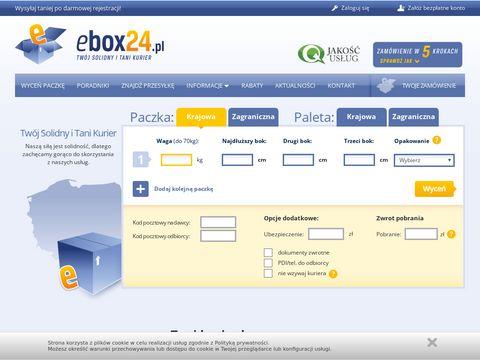 Tanie palety - www.ebox24.pl