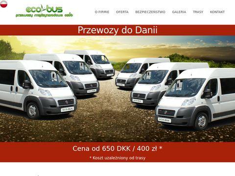 Przewozy z Polski do Danii - Eco-Bus