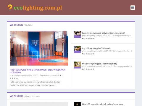 Żarówki Ledowe Ecolighting