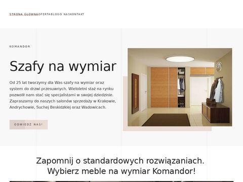 Szafy na wymiar Kraków