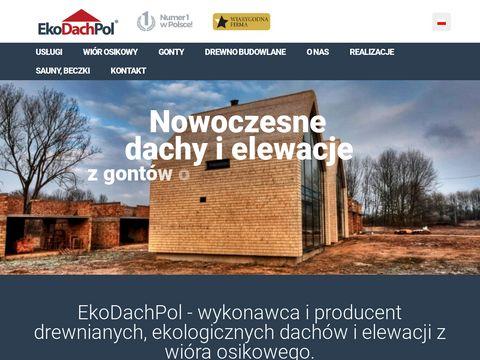 Ekodachpol - Dachy drewniane