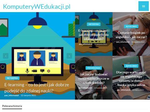 E-learning w Polsce - wszystko o zdalnym nauczaniu
