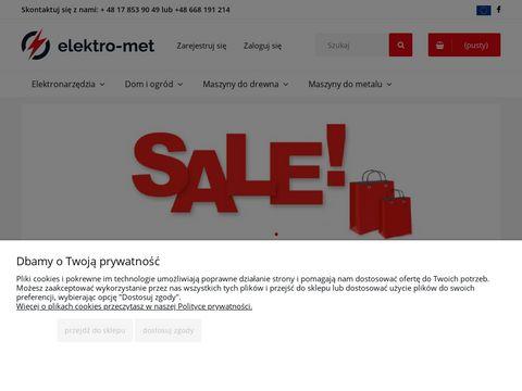 Elektro Met - internetowy sklep narzÄ™dziowy