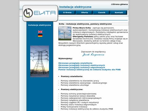 Instalacje elektryczne - pomiary elektryczne