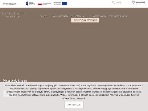 Elizabeth Passion - Najpiękniejsze Suknie ślubne