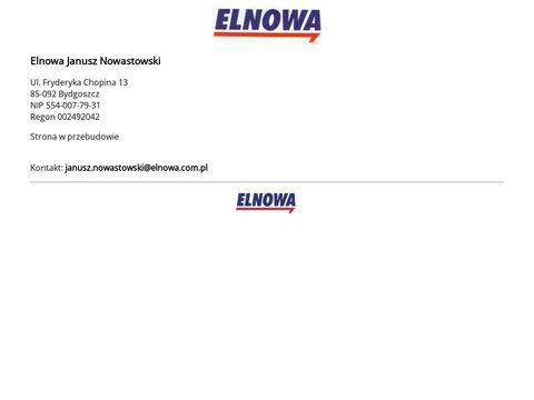 Elnowa - Janusz Nowastowski