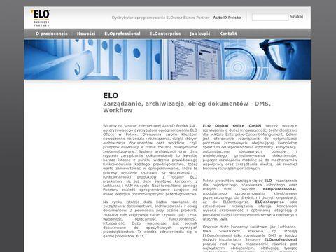 ELO Office: System Archiwizacji | DMS