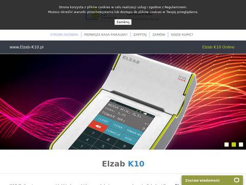 K10 - innowacyjna kasa fiskalna marki Elzab