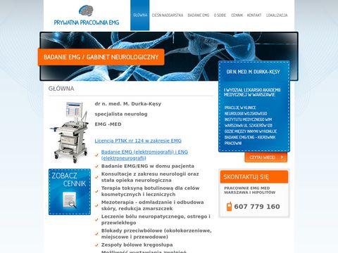 Pracownia EMG, dr Marta Durka-K臋sy