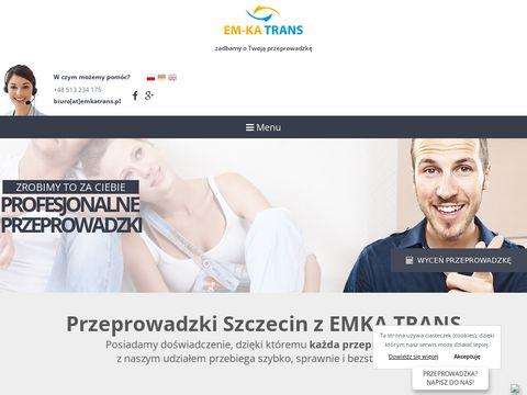 EM-KA TRANS MICHA� WÓJCIK przeprowadzki międzynarodowe szczecin