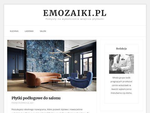 EMozaiki.pl – stylowe płytki do salonu