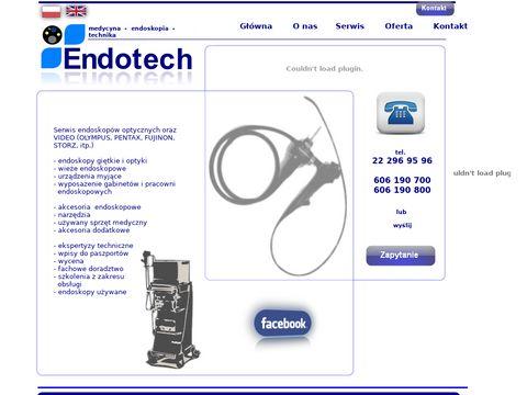 ENDOTECH - urzÄ…dzenia medyczne - endoskopy
