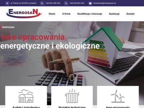 Audyty energetyczne Warszawa - projekty instalacji sanitarnych i co - audyty remontowe