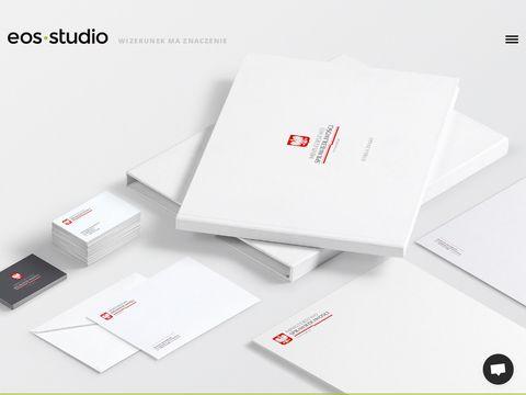 Eos Studio - identyfikacja wizualna, projekt logo