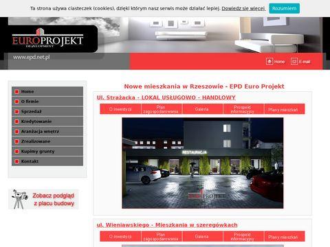 Euro Projekt - Sprzedaż mieszkań w Rzeszowie