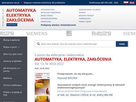 Magazyn naukowo-techniczny dla praktyków