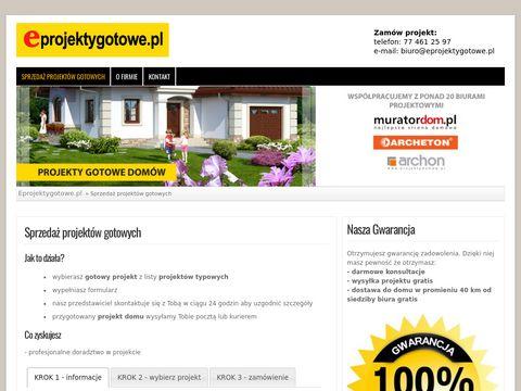 Gotowe projekty domów Opole – usługi projektowe – Eprojektygotowe