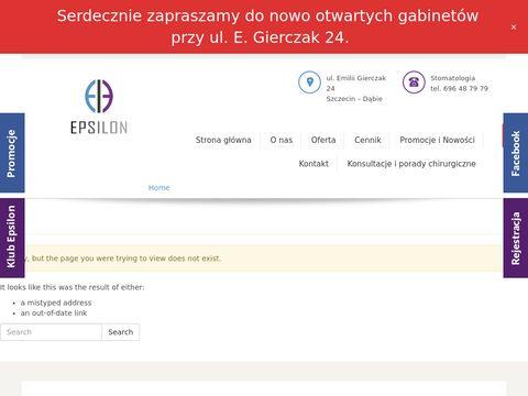 EPSILON medycyna estetyczna szczecin prawobrzeże