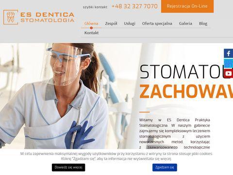 ES DENTICA stomatolog tychy