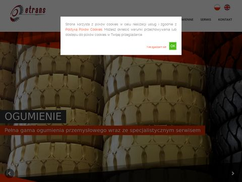 Wynajem wózek widłowy gliwice 10 ton - etrans.net.pl