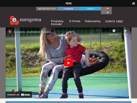 Bezpieczne nawierzchnie na plac zabaw - Eurogoma
