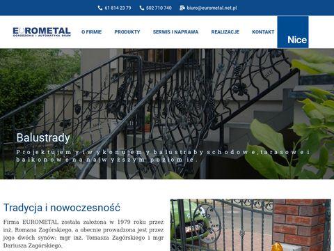 Bramy Pozna艅 - Eurometal